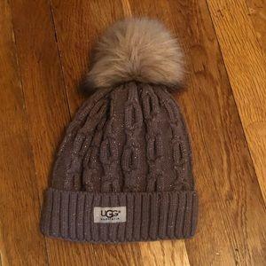 Brand New Never Worn Ugg Puffer Hat